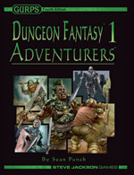 GURPS Dungeon Fantasy Denizens: Swashbucklers – Cover