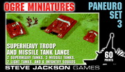 Paneuropean Set 3 – Superheavy Troop and Missile Tank Lance