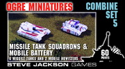 Combine Set 5 - Missile Tank Platoons and Mobile Battery
